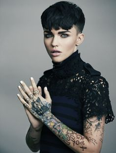 Ruby Rose talks about joining Orange is the New Black. via @byrdiebeauty