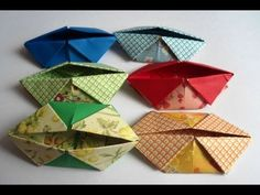 PORTA UTILIDADES.  Origami collapsable dish/pocket.