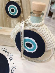Μπουκαλακι για το λάδι #nikolasker #invitation #vaptisi #Greece #athens #greekevents #neaionia #boy #girl #christening #baptism #eye #προσκλητήριοβάπτισης #vaftisi #βάπτιση Boy Baptism, Baptism Ideas, Evil Eye, Perfume Bottles, Baby Shower, Eyes, My Favorite Things, Bottles, Baby Sprinkle Shower