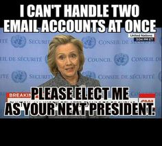 Hillary 2016: America, we're proud to introduce your next train wreck. I feel sorry for the interns...old age will be creeping up on them regularly.