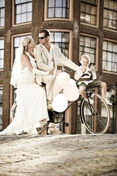 Trouwfoto van Jacco van de Kuilen op www.huwelijk.nl.