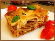 Ethnic Recipes, Food, Lasagne, Meal, Eten, Meals