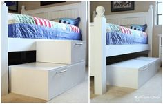 Convertible Pet Stairs Pet Stairs For Bed, Dog Stairs, Pet Insurance Reviews, Cheap Pets, Dog Ramp, Healthy Pets, Diy Bed, Diy Stuffed Animals, Diy Home Decor