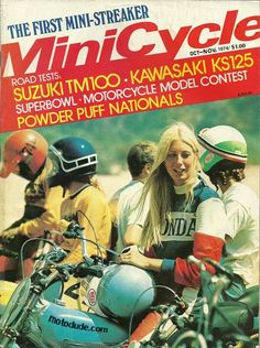 This is a competitor from 1974, racing in the first Powder Puff Nationals
