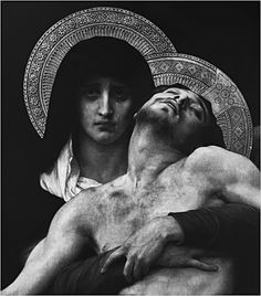love religious iconography-- i have always loved this piece. her face shows such pain and sadness.