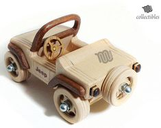 Mini wood replica inspired to various Jeep models. Dimensions cm: altezza 7 x lunghezza 15 x profondità 9 inch : height x length x depth Scale Weight 165 g - lb Mini Jeep, Mini Car, Glow Table, Cardboard Car, Wooden Truck, Recycled Leather, Puzzle Toys, Wooden Crafts, Wood Toys