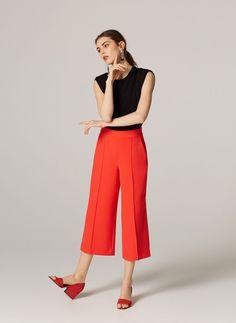 Culottes - Trousers - Ready to wear - Uterqüe Spain