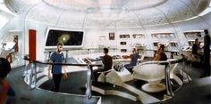 Star Trek concept art, Enterprise interior sets - Mike Minor...