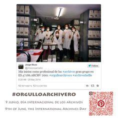 .#orgulloarchivero #IAD14 9 Junio, Día Internacional de los #Archivos. Archivo de la imagen (June 9th, International Archives Day)