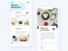 list of some Great Stunning Food & Drink Mobile App UI Design Sample in this post to give you an innovative boost. Food is an important Mobile Ui Design, App Ui Design, Flat Design, Design Design, Survey Design, Graphic Design, Interface Design, User Interface, Design Thinking