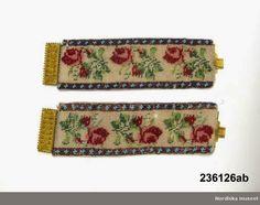 Beaded bracelets, 1830-59 | In the Swan's Shadow