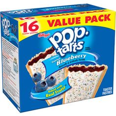 Kellogg's Frosted Cookies & Creme Pop-Tarts, 16 ct Kellogg's Frosted Cookies & Creme Pop-Tarts, 16 ct: Family pack Naturally and artificially flavored Includes 16 toaster pastries Good source of six vitamins and minerals Frosted Cookies & Creme Gourmet Recipes, Snack Recipes, Cookie Frosting, Rainbow Sprinkles, Snacks For Work, Chocolate Fudge, Pop Tarts, Blueberry, Strawberry