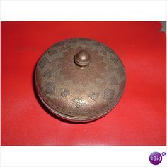 GENUINE KINCO LABLE ON BASE , POT WITH LID Listing in the Brass,Metalware,Antiques Category on eBid United Kingdom