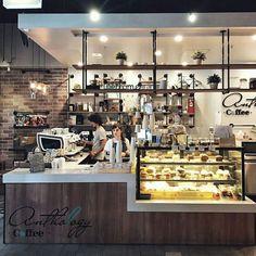 Coffee shop design ideas image detail for bakery cafe shop design Coffee Shop Counter, Cafe Counter, Coffee Shop Bar, Small Coffee Shop, Best Coffee Shop, Coffee Shops, Coffee Bars, Counter Tops, Coffee Club