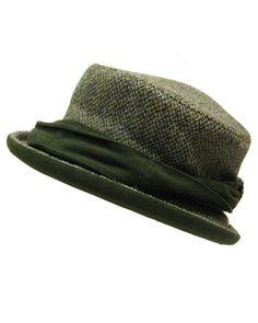 Hoggs Harris tweed ladies country hat - HOFHTL