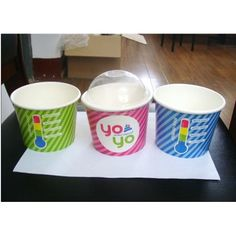 Image detail for -frozen yogurt cup,paper cup,hot coffee paper cup - Sell frozen yogurt . Yogurt Cups, Hot Coffee, Frozen Yogurt, Party Party, Mugs, Detail, Paper, Tableware, Dinnerware