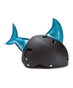 Another great find on #zulily! Shark Helmet Accessory Set #zulilyfinds