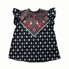 fox print polka dot baby toddler blouse Ready to Ship with FREE SHIPPING. $39.00, via Etsy.