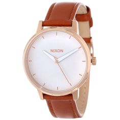 Nixon Quartz Kensington Brown Leather White Dial Women's Watch A108-1045 http://lyumax.com/category/nixon/catId=4452300  #nixon #nixonwatches #wristwatch #ladies #ladieswatch #ladieswatches #gift #forher #analog #accessories #women #green #silver #mop #greenwatch #roundwatch #steel #stainlesssteel #prettywatch #watchaddict #watchlovers #crystals #sparklewatch #classicwatch #classicwatches