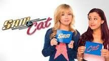 Sam And Cat! Staring Ariana Grande and Jennet McCurdy. Love this show. Sam And Cat, Love Sam, Sam E, Ariana Grande, Jennette Mccurdy, Cat Valentine, Mariah Carey, Nickelodeon Victorious, Divas
