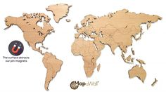 MapaWall-wooden-world-map-Oak-plain-magnetic