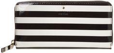 best - 6.94 - kate spade new york Harrison Street Stripe Lacey PWRU3447 Wallet,Black/Cream,One Size kate spade new york http://www.amazon.com/dp/B00BV4MALQ/ref=cm_sw_r_pi_dp_Z38Otb0YFZ42CFNZ