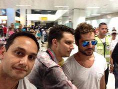 Aeroporto Internacional de São Paulo.