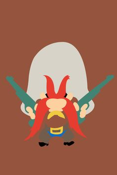 Yosemite Sam | Looney Tunes Minimalistic Artwork Poster Collection