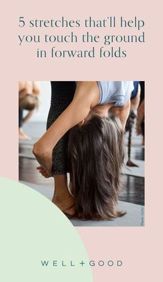 forward fold yoga Good Stretches, Forward Fold, Workouts, Wellness, Yoga, Long Hair Styles, Fitness, Travel, Beauty
