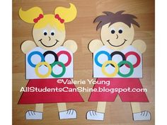 Let's teach our students about teamwork! This craftivity has an Olympic theme, which is a perfect way to begin a discussion on teamwork skills.