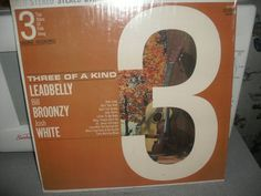 PickWick Records Three Of A Kind Leadbelly Bill by AJRECORDS, $29.99