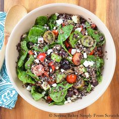Greek Quinoa Salad Recipe on Yummly. @yummly #recipe