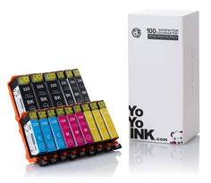 YoYoInk 15 Pack Compatible Ink Cartridge Replacement for Canon PGI-225 & CLI-226 (3 Big Black, 3 Small Black, 3 Cyan, 3 Magenta, 3 Yellow) with Ink Level Indicator