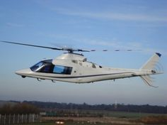Fly with a luxurious helicopter Agusta A109C  ...!