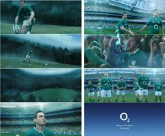 O2 Rugby commercial by Brando. Highlights.