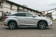 Driving the All-New 2016 Lexus RX