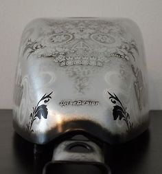 """Gas Tank for Harley Sportster/883 07+ EFI """"Silver Leaf and Airbrushed"""" NEW"""