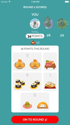 Sushi Go! The app
