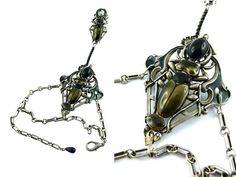GAULTIER  Gorgeous vintage uber rare insect by BlackRedSquare
