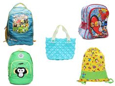 10 Fun Kiddie Bags for the Rains: This article talks about fancy bags for kids and where to buy them. Kids Bags, Head To Toe, Monsoon, Little Ones, Rain, Take That, Fancy, Children, School