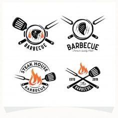 Bbq Grill, Grill Logo, Bbq Steak, How To Grill Steak, Grilling, Menu Book, Logo Vintage, Smoked Ham, Home Logo
