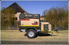 Conqueror Offroad Trailers from South Africa