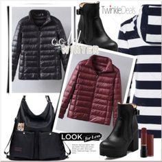 Zip Up Casual Down Jacket