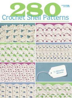 280 crochet shell patterns ebook|Shell stitch crochet baby blanket patterns