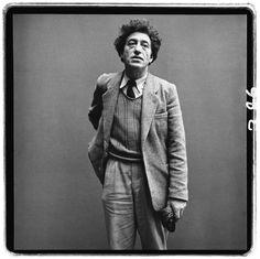 Alberto Giacometti, sculptor, Paris, March 6, 1958 photo from richard avedon