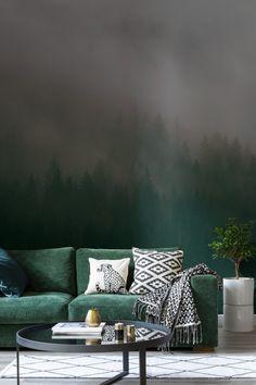 bw-dalmatian-speckle-Murals wallpaper