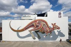Nychos Anatomically Correct Bisected Animal Murals - 3755574
