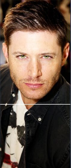 Jensen #SDCC - this is a nice edit - a little more true to his eye color!