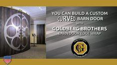 Barn Door Edge Wrap for curved doors!