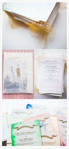stitched wedding invitations